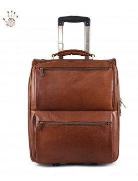 Genuine Vegetable Tanned Leather Trolley - Metin