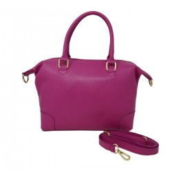 DLB - Genuine Leather Handbag with Shoulder Strap - Bekka - Tuscan Leather Goods