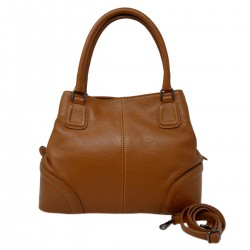 DLB - Genuine Leather Shoulder Bag 3 Compartments - Baya - Tuscan Leather Goods
