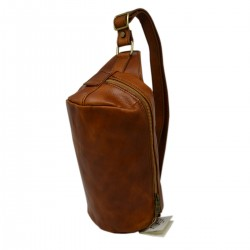 DLB - Unisex Leather Crossbody Bum Bag - Mira - Tuscan Leather Goods