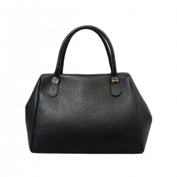 DLB - Genuine Leather Handbag with Shoulder Strap - Clary