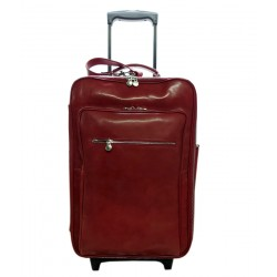Echtes Leder Trolley Made in Italy - Monte