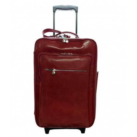 Genuine Made in Italy Leather Trolley - Monte