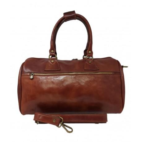 Genuine Leather Travel Bag mod. Large - Kiku