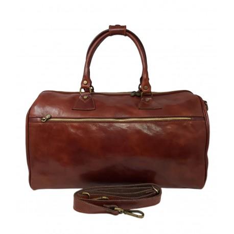 Genuine Leather Travel Bag mod. Medium - Kike