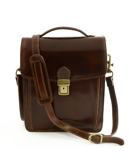 2d4c6867bca9 Genuine Leather Man Crossbody Bag - Dream Leather Bags