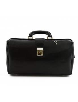 Genuine Leather Bag for Doctor, 1 compartment - Gharda