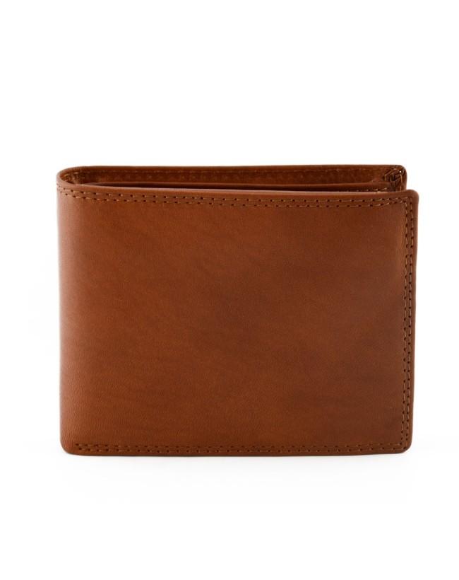 Portafoglio per Uomo in Vera Pelle, 14 tasche portacarte - Grey