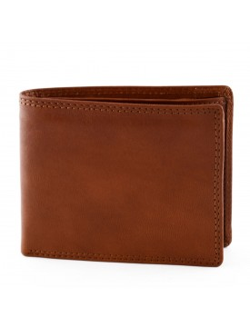 Man Wallet in Genuine Leather with 14 slots for cards and documents - Lennak