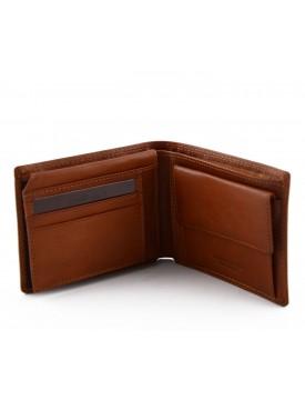Portafoglio da Uomo in Vera Pelle 14 tasche portacarte e documenti - Lennak