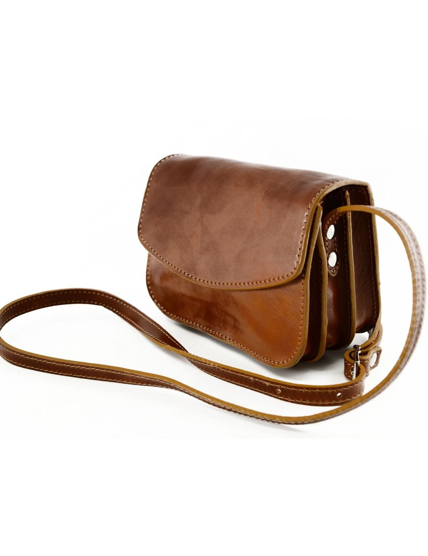 mini sac bandouli re pour femme en cuir v ritable avec 3 compartiments eliana. Black Bedroom Furniture Sets. Home Design Ideas