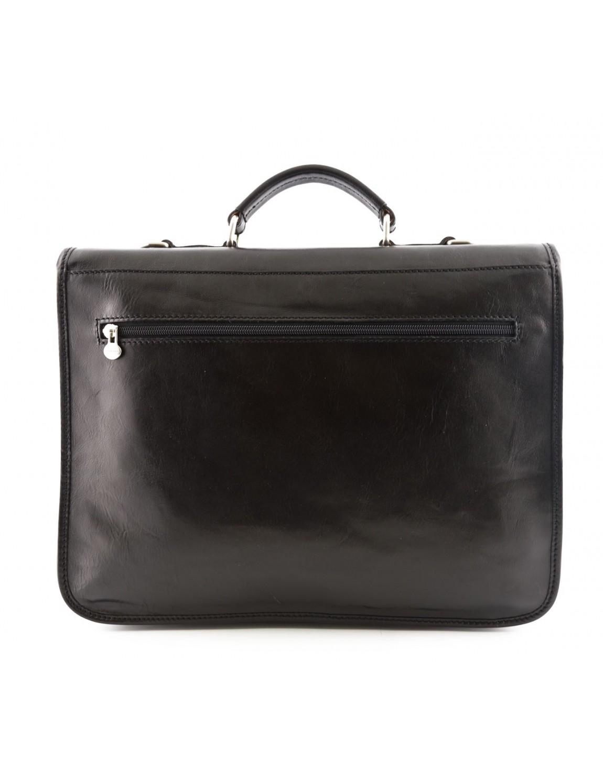 Leather Business Bag - Maniva