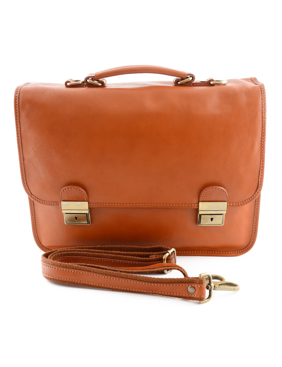 Leather Business Bag - Maniva