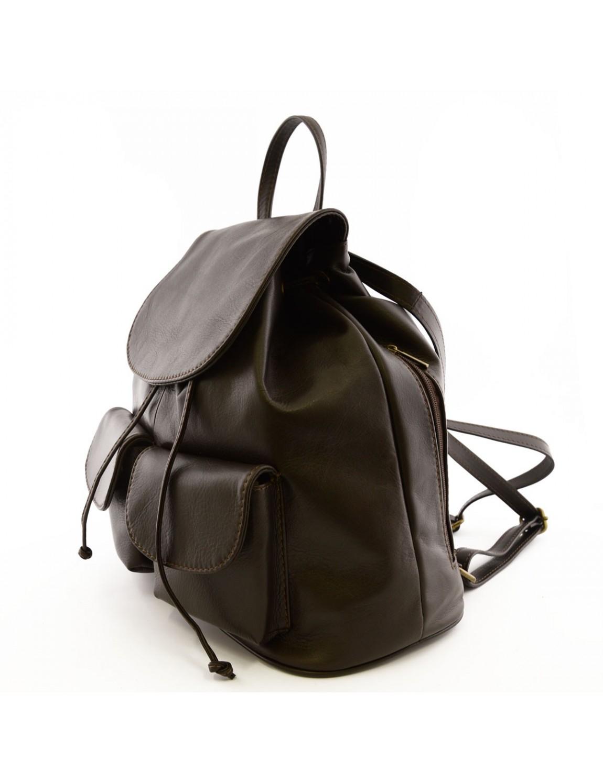 sac dos en cuir pour femme mod l large cliantha. Black Bedroom Furniture Sets. Home Design Ideas