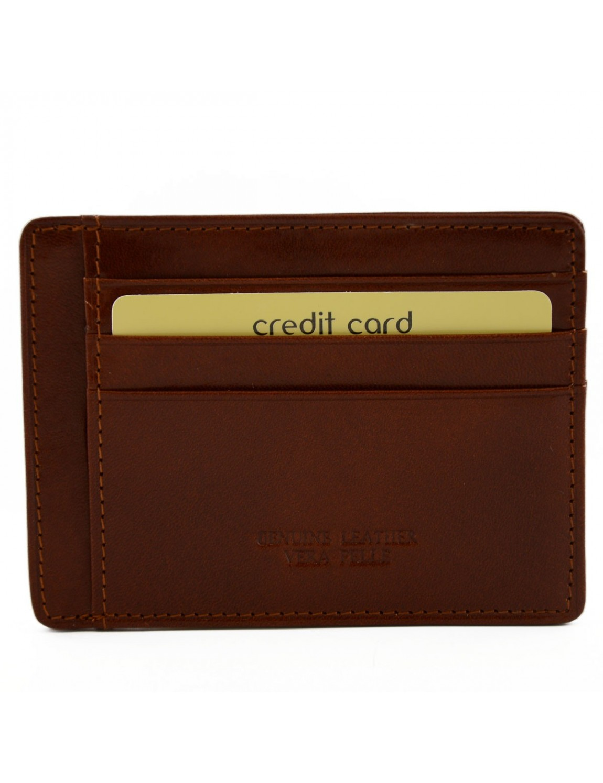 Porte cartes de cr dit en cuir v ritable 9 compartiments renno - Porte carte de credit homme ...
