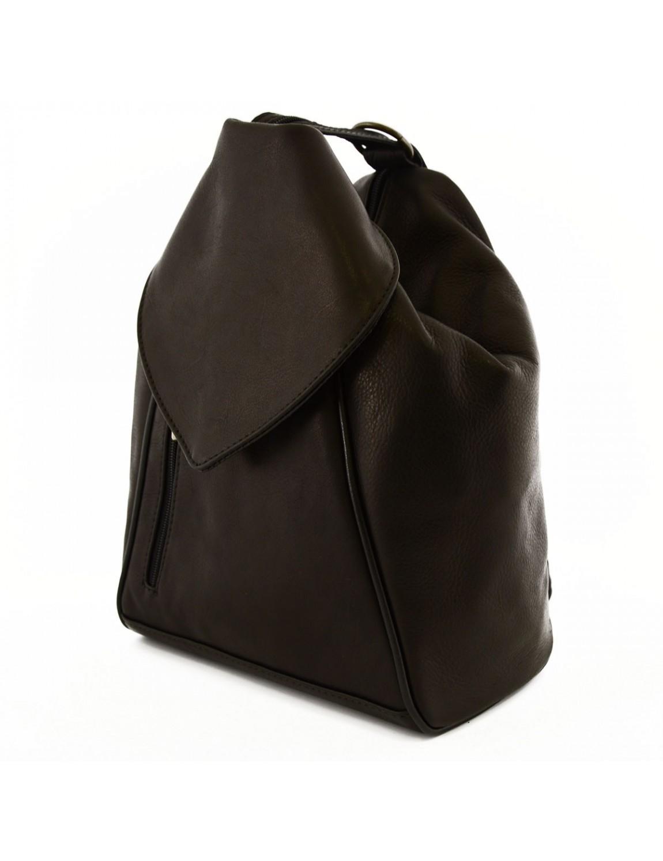 sac dos en cuir pour femme hel. Black Bedroom Furniture Sets. Home Design Ideas