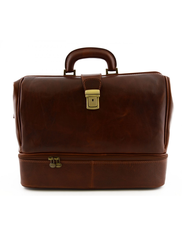 d42f4929b7 Genuine Leather Medical Bag, Double bottom - Kallan