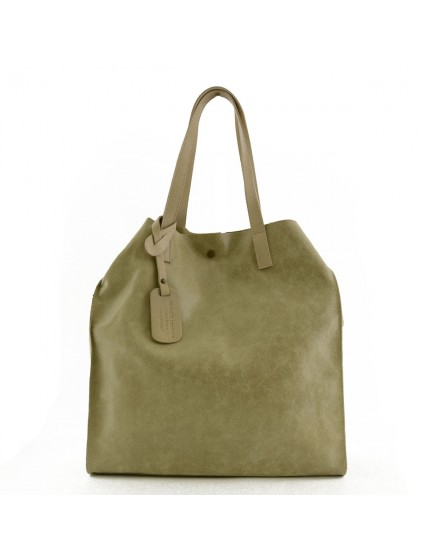 Borsa Donna Shopper in Pelle Vera - Greta