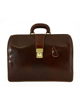 Business and Medical Leather Bag 3 Compartments - Tiko