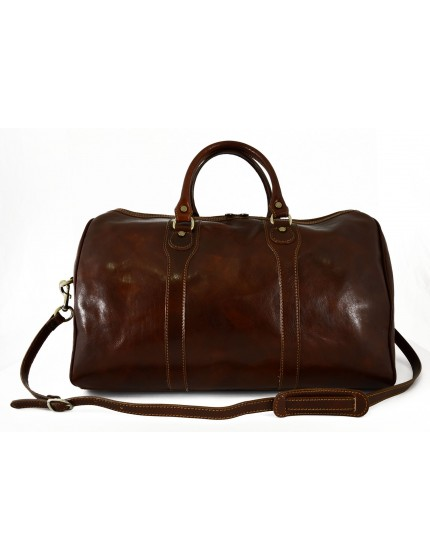 Leather Travel Bag - Sheila