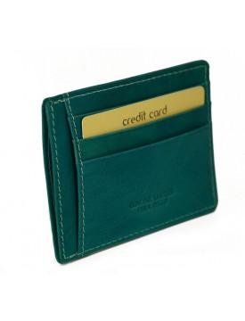 Porta Carte di Credito in Vera Pelle - Renno