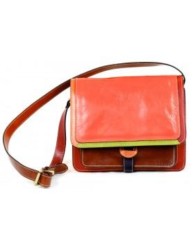 Woman Shoulder Leather Bag - Aera