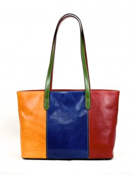 Shopper Donna in Vera Pelle con Scomparto Interno - Julienne