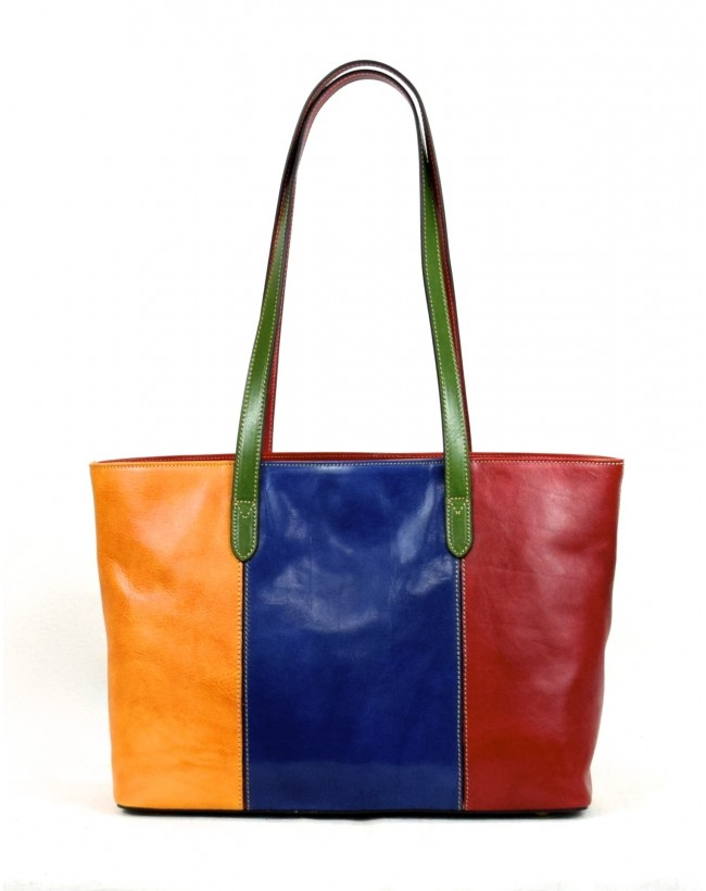Shopper Donna in Vera Pelle con Scomparto Interno - Julienne