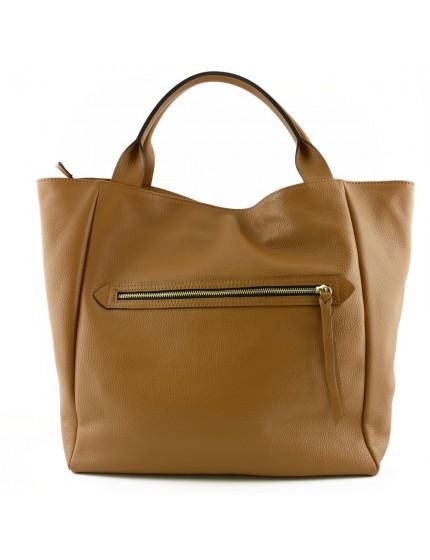 Shopper Donna in Vera Pelle con Manici Rinforzati - Alyssa