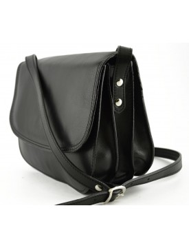 Woman Genuine Leather Shoulder Bag with 3 compartments - Annie 71d71e595b131