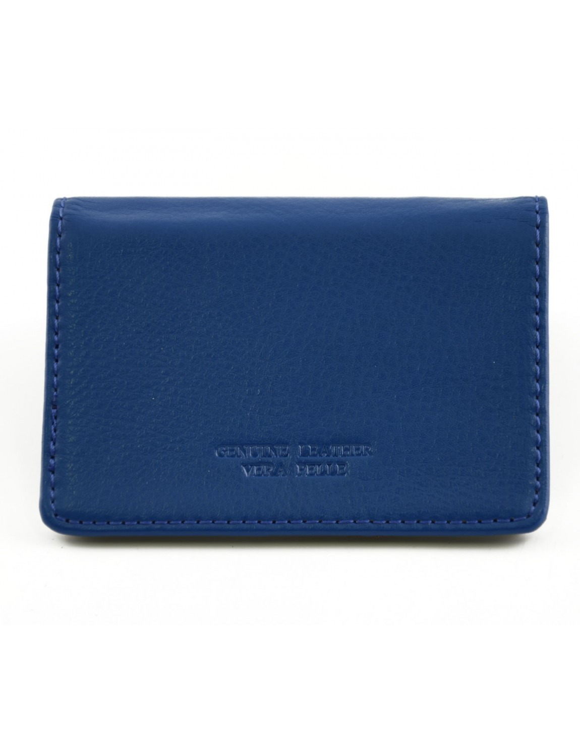 Blue Leather Business Card Holder | Best Business Cards