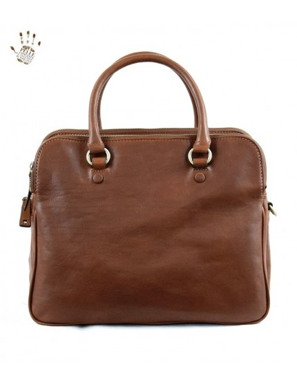 Woman Handbag with Compartments and Removable Shoulder Strap - Taylor