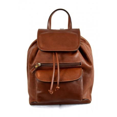 sac dos en cuir au tannage v g tal avec bretelles r glables giuliana. Black Bedroom Furniture Sets. Home Design Ideas