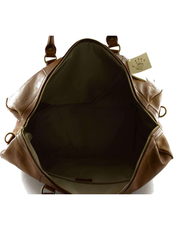 sac voyage en cuir au tannage v g tal sheilave. Black Bedroom Furniture Sets. Home Design Ideas