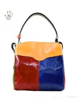 Genuine Leather Woman Shoulder Bag - Gea
