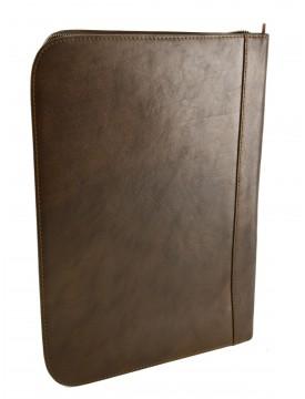 Porta Documenti A4 in Pelle Vera con Scomparti Interni -  Kostantin
