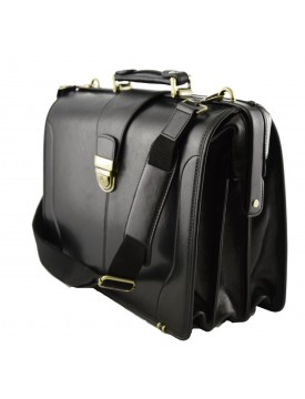 Genuine Leather Doctor Bag, three compartments - Quinsj
