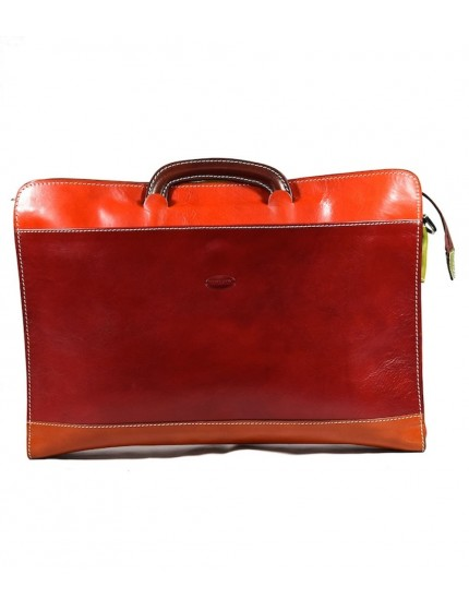 Leather Briefcase - Maleva