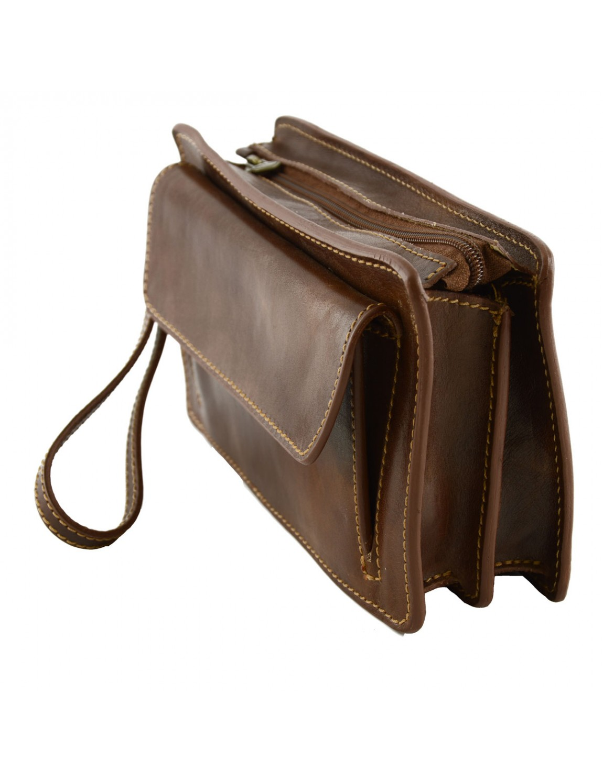 sac main pour homme cuir v ritable rabo. Black Bedroom Furniture Sets. Home Design Ideas