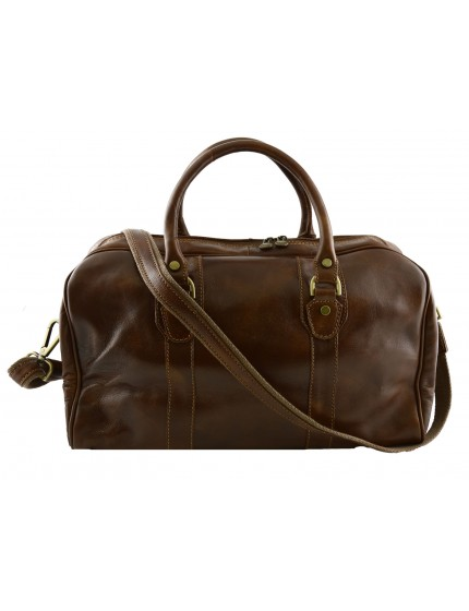 Genuine Leather Travel Bag - Delm