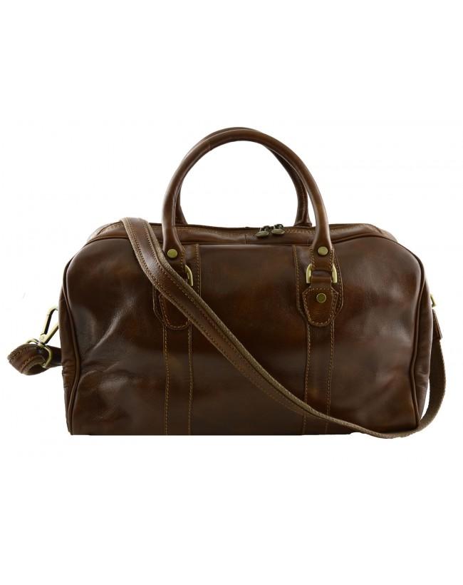 Genuine Leather Travel Bag - Delm