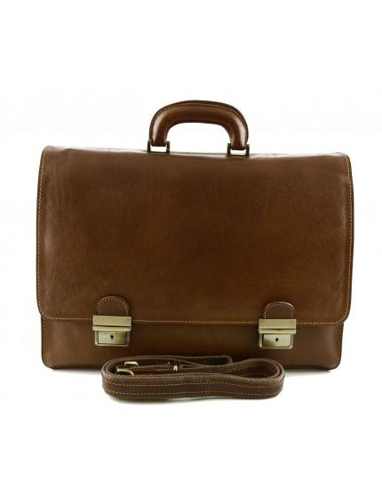 Genuine Leather Business Bag - Jojo