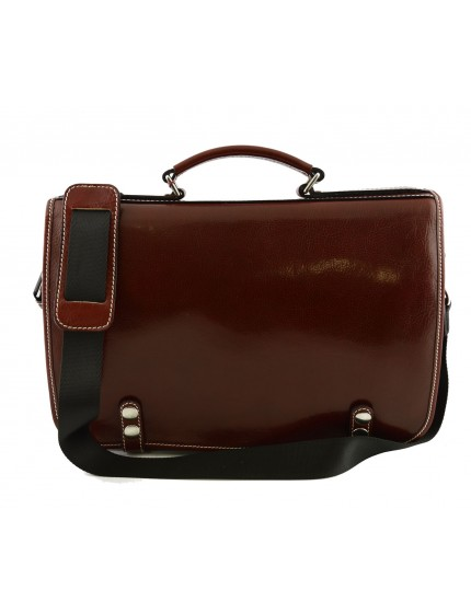 Genuine Leather Business Bag - Sven