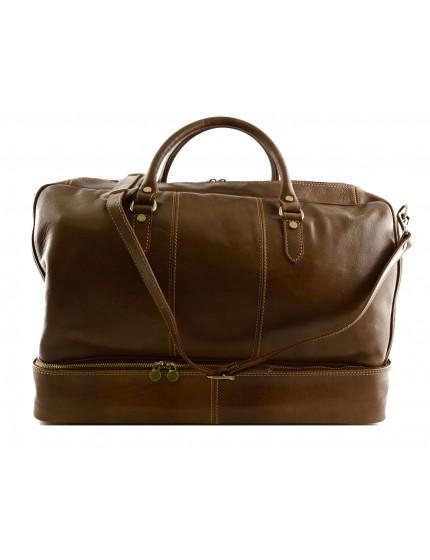 Echtes Leder Reisetasche - Susy