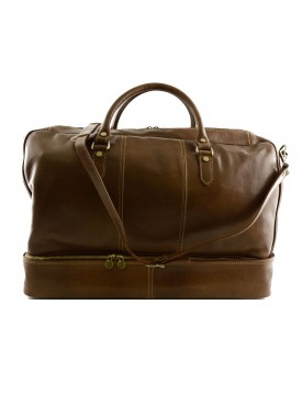 Genuine Leather Travel Bag - Susy