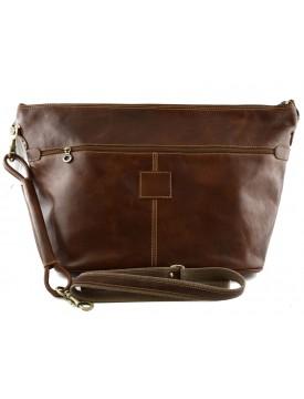 Genuine Leather Travel Bag - Poppy