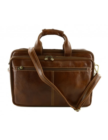 Borsa Business Laptop in Vera Pelle - Andy