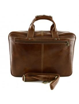 Borsa Business Laptop in Vera Pelle - Andy
