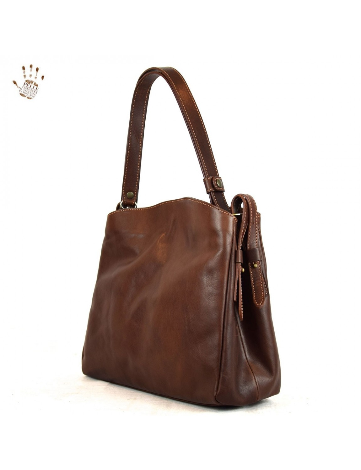 how to clean genuine leather bag