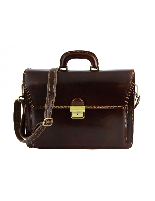 Genuine Leather Business Bag - Niello